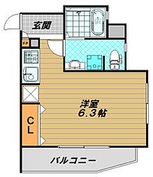 ワコーレヴィアーノ須磨月見山[1階]の間取り