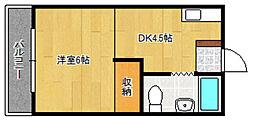 IT本町[3階]の間取り