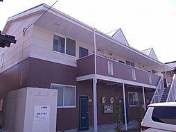 愛知県豊川市赤代町3丁目の賃貸アパートの外観