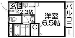アーバンコート香里園[1階]の間取り