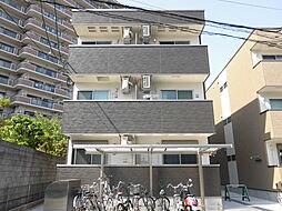 大阪府大阪市東淀川区南江口1丁目の賃貸アパートの外観
