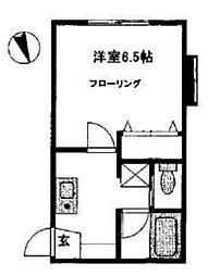 オーチャードハウスII[1階]の間取り