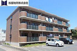 愛知県豊橋市曙町字宮前の賃貸マンションの外観