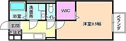セジュールNAKAMURA[1階]の間取り