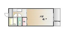兵庫県神戸市西区大津和1丁目の賃貸アパートの間取り