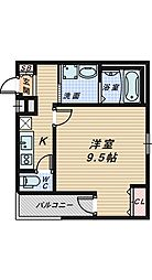 フジパレス堺南長尾Ⅲ番館[3階]の間取り
