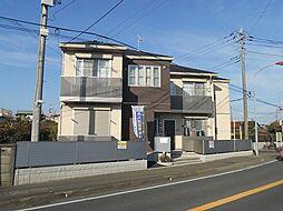 神奈川県高座郡寒川町岡田3丁目の賃貸アパートの外観