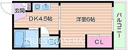 EST1小野原[1階]の間取り