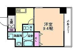 エスポアール福島[8階]の間取り