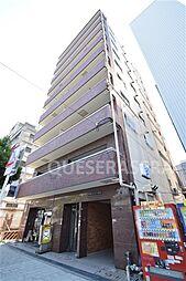 大阪府大阪市中央区高津3丁目の賃貸マンションの外観