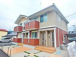 神奈川県相模原市中央区清新5丁目の賃貸アパートの外観