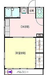 くれはマンション[3階]の間取り