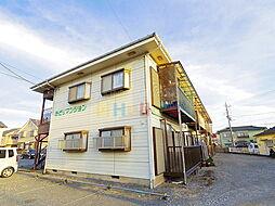東京都昭島市緑町2丁目の賃貸アパートの外観