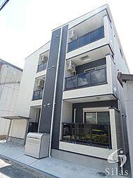 近鉄南大阪線 矢田駅 徒歩5分の賃貸アパート