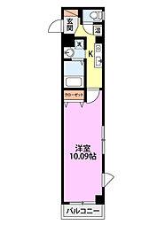 メゾン・グランディール[4階]の間取り