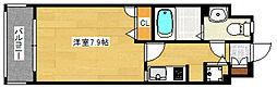 エンクレスト天神III[5階]の間取り