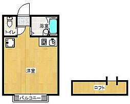 ラ・メール南福岡[305号室]の間取り