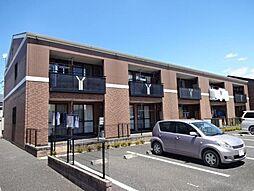 埼玉県坂戸市にっさい花みず木4丁目の賃貸アパートの外観