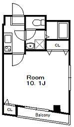 第11モリコーポ[4階]の間取り