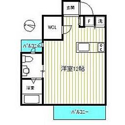 ATRIUM・T ANNEX[2階]の間取り