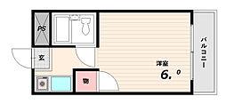 KawaseMansion壱番館[3階]の間取り