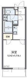 近鉄大阪線 近鉄八尾駅 徒歩7分の賃貸アパート 3階1Kの間取り
