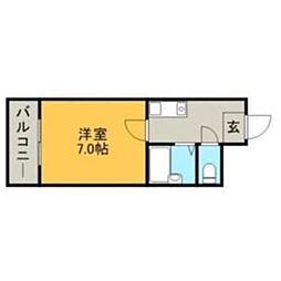 昭善ビル[0301号室]の間取り