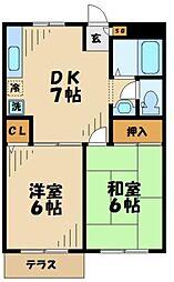 フィルコート[2階]の間取り