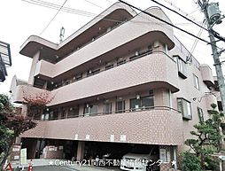 シャンテー香里ヶ丘2[3階]の外観