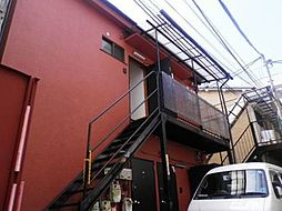 東京都港区白金6丁目の賃貸アパートの外観