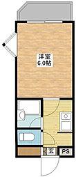 フォーレ諏訪参道[1階]の間取り