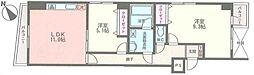 サザンクロス[8階]の間取り