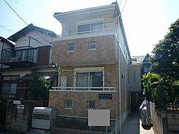千葉県市川市河原の賃貸アパートの外観