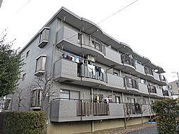 東京都東大和市上北台2丁目の賃貸マンションの外観