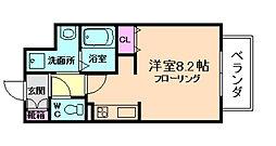 エトワール阿波座[2階]の間取り