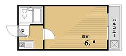 大田ハイツ[2階]の間取り