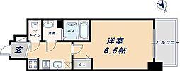 阪神なんば線 九条駅 徒歩6分の賃貸アパート 2階1Kの間取り