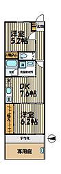 福泉庵[102号室]の間取り