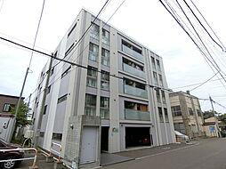 北海道札幌市中央区南十五条西9丁目の賃貸マンションの外観