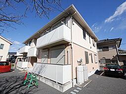 神奈川県海老名市門沢橋3丁目の賃貸アパートの外観