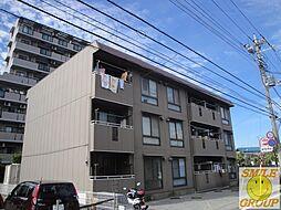 千葉県船橋市七林町の賃貸アパートの外観