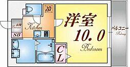 クレアドル須磨II[701号室]の間取り