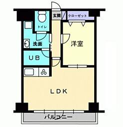 敷島ビル[6階]の間取り