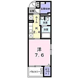 ジラソーレ[3階]の間取り