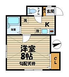 Kamakura ST[205号室]の間取り