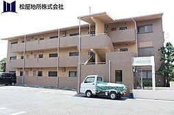 愛知県豊橋市大岩町字東郷内の賃貸マンションの外観
