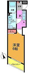 プランドールOsu[2階]の間取り