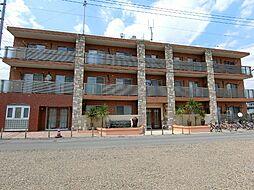 栃木県栃木市柳橋町の賃貸マンションの外観
