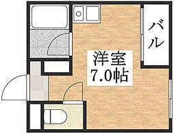アイエムタワー[7階]の間取り