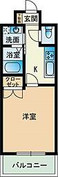 大三祇園ビル[704号室]の間取り